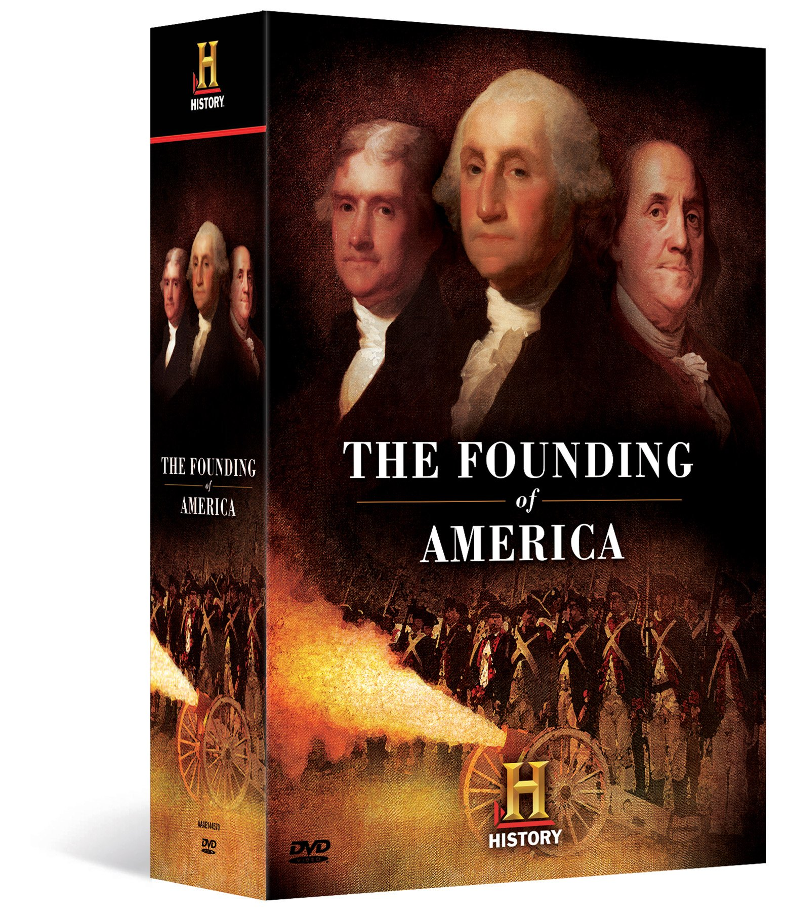 The Founding of America Megaset by A&E