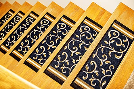 Gloria Rug Skid Resistant Rubber Backing Gripper Non Slip Carpet Stair  Treads   Washable