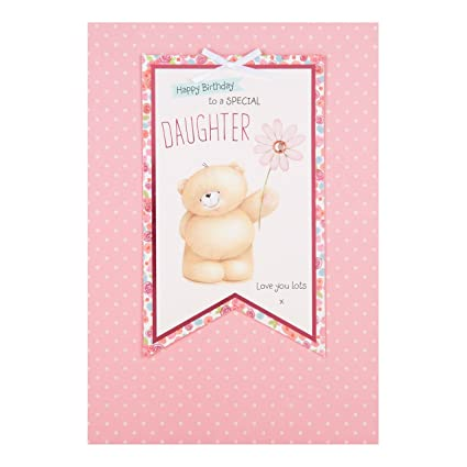 Daughter Adorable Forever Friends Birthday Card Love You Lots