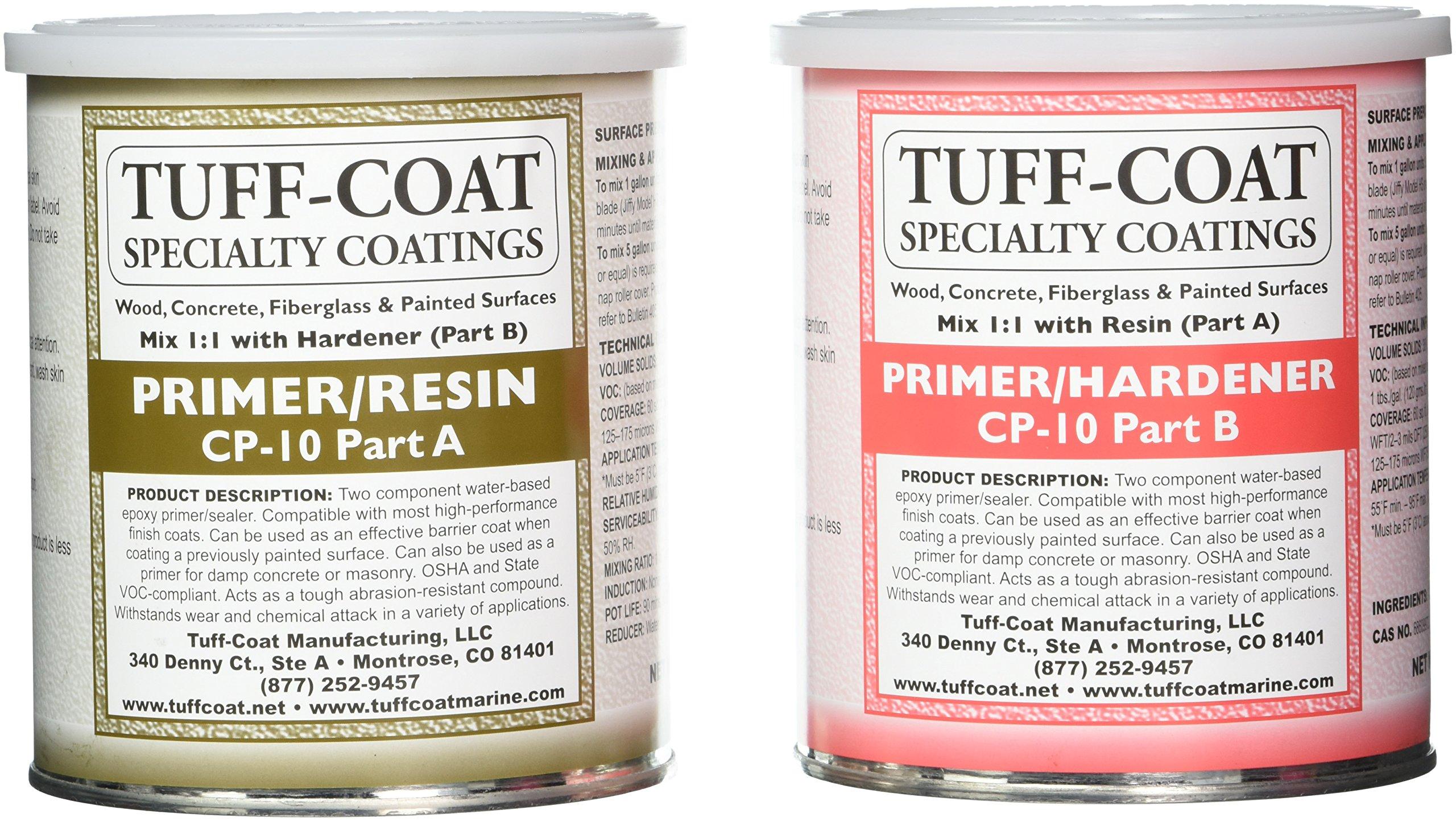 TUFF Coat CP-10 1 Quart Primer Kit by TUFF Coat