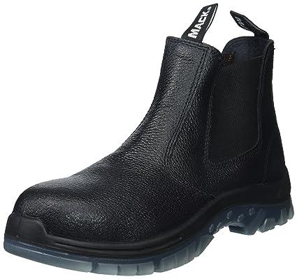 fddd99ec0df SAS Safety E93811101 Mack Tradie Boots, USA 10.5, Black