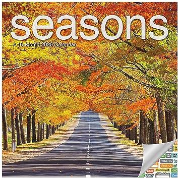 Amazon.com: Calendario de temporadas 2020 – Calendario de ...