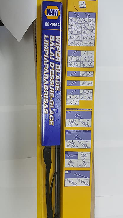 Amazon.com: 60 napa wiper blades 10 0f each 18,19,20,21,22,24 metal ...