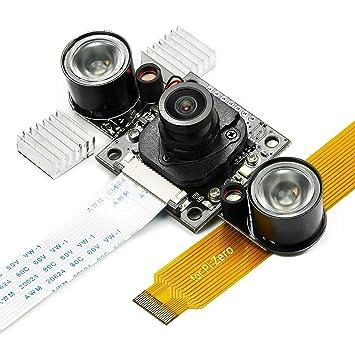 Amazon com: Day-Night Vision for Raspberry Pi Camera