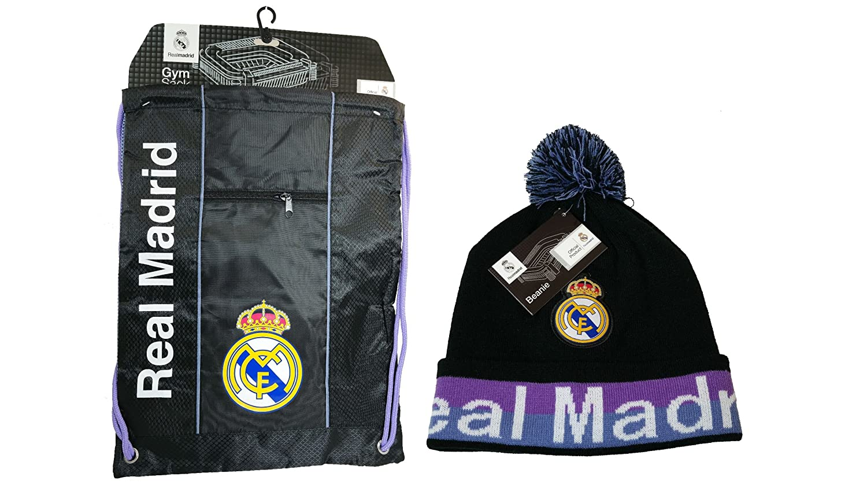 d146571f9c18 Amazon.com   Real Madrid C.F. Official Licensed Soccer Cinch Bag ...