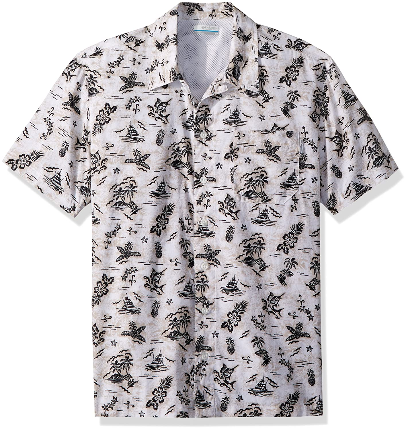 49a270f2 Amazon.com : Columbia Men's Trollers Best Short Sleeve Shirt : Clothing