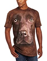 The Mountain Chocolate Lab Face T-Shirt - Adult