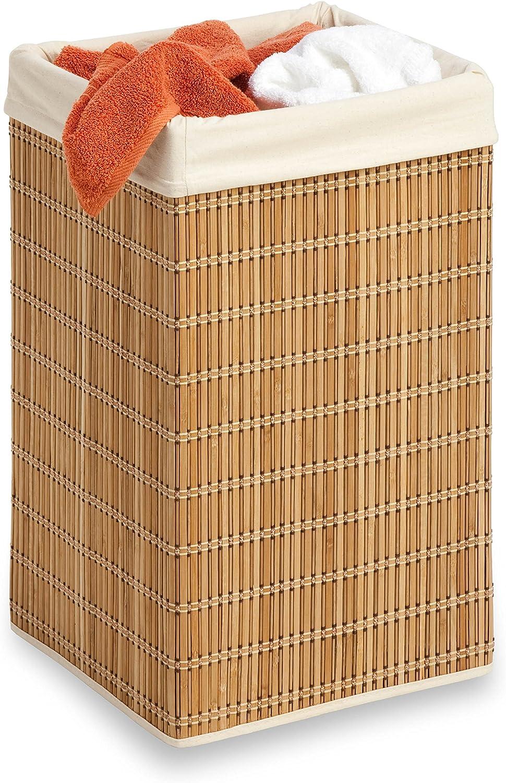Honey-Can-Do HMP-01620 Square Wicker Hamper