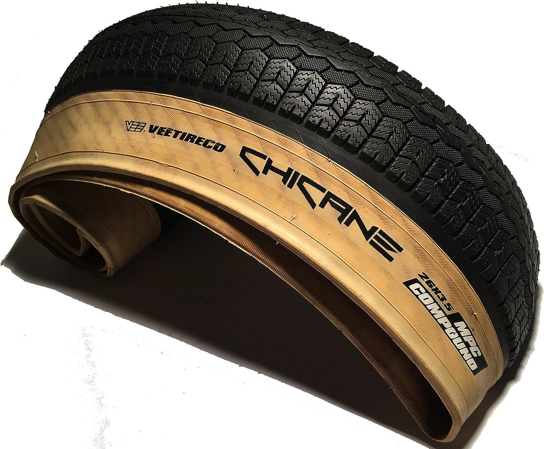 Vee Tire /& Rubber Chicane Tire Vee Chicane 26x3.5 Bk//tan Wire//72