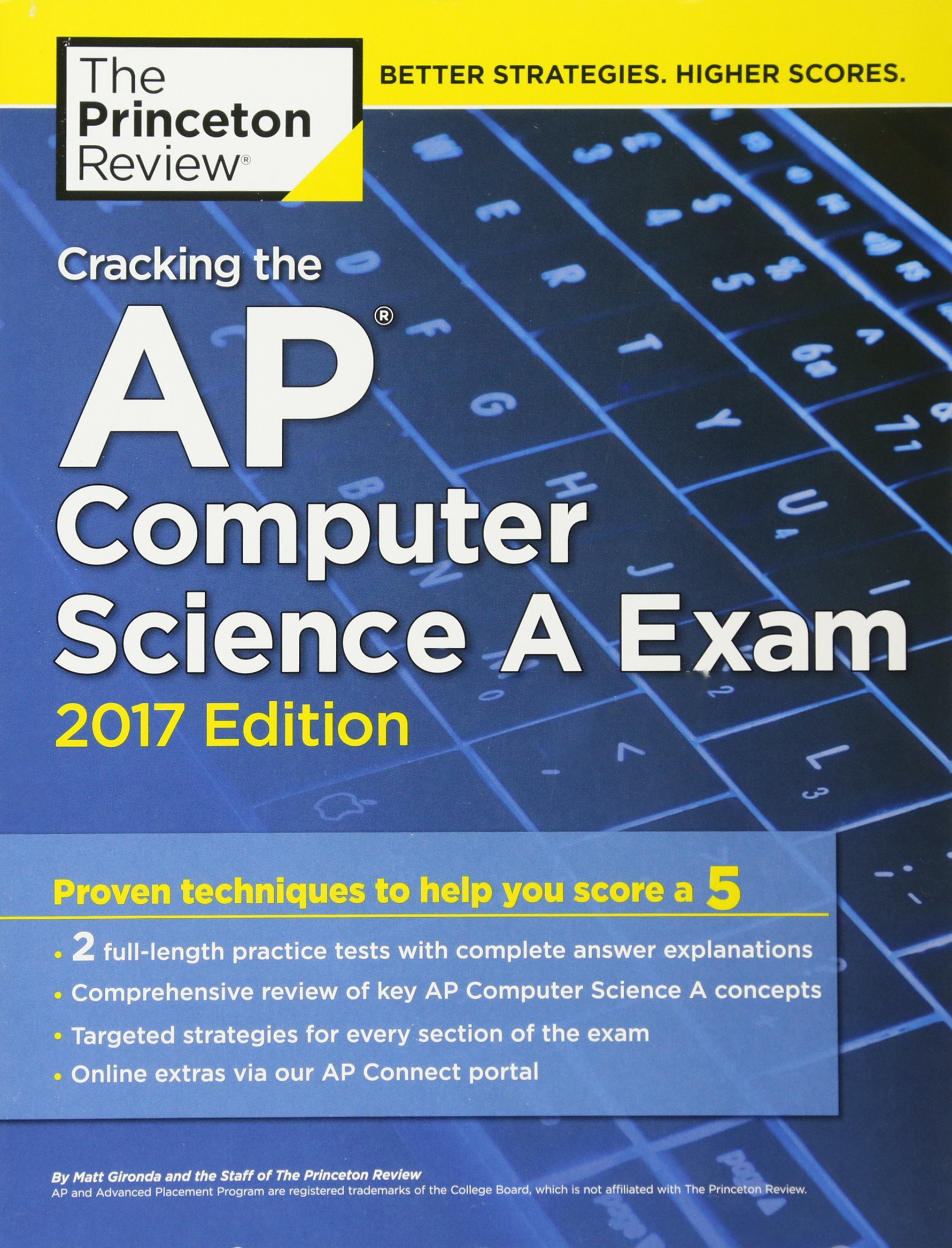 Cracking the AP Computer Science A Exam: 2017 Edition (College Test Prep):  Amazon.co.uk: Princeton Review: 9781101919880: Books