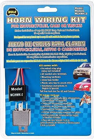 amazon.com: wolo (mchwk-2) air horn wiring kit: automotive  amazon.com