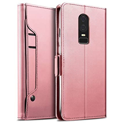 Amazon.com: Yocktec OnePlus 6T - Funda ultrafina de piel ...