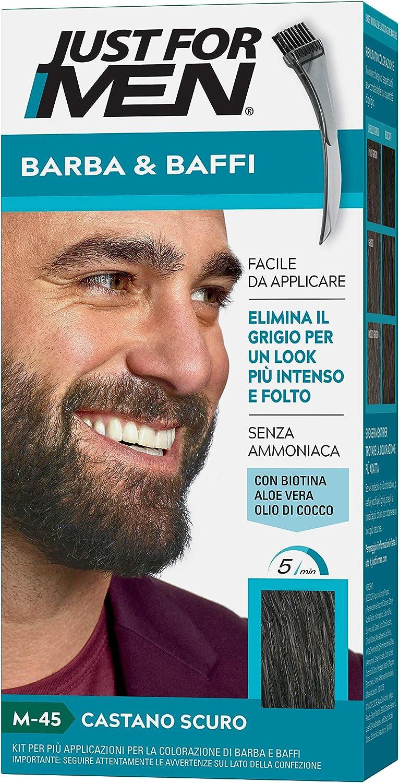 Just for Men® - Bigote y Barba M45 - Castano Scuro