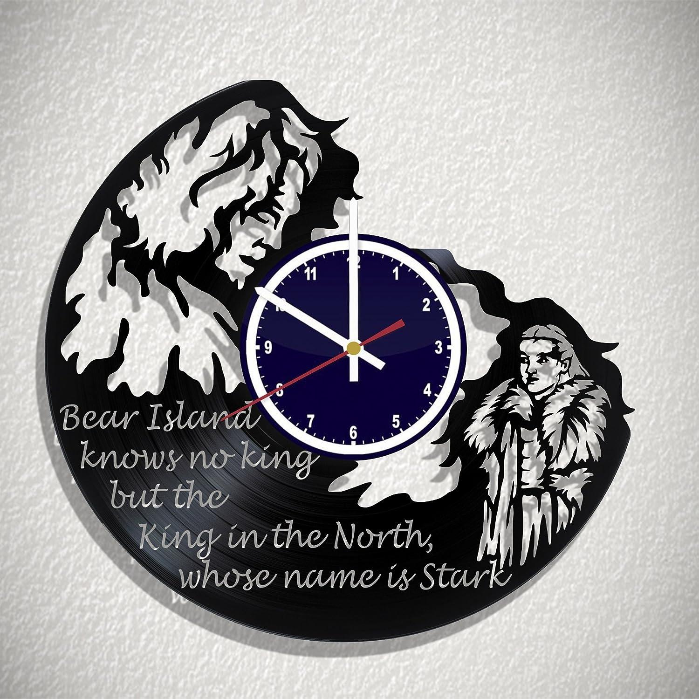 Reloj de pared juego de tronos oso isla no conoce King pero ...