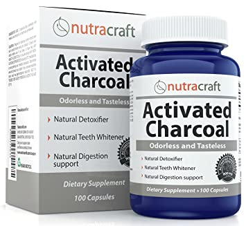 amazon com activated charcoal capsules for teeth whitening gas