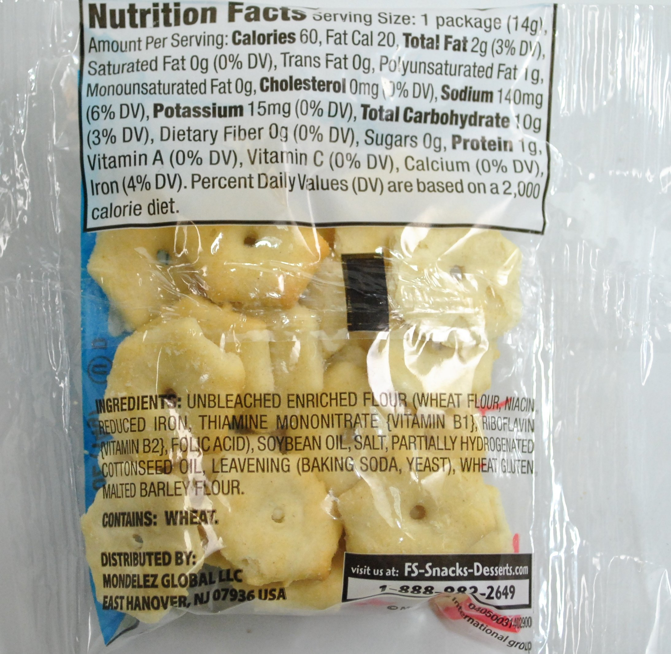 Nabisco New England Oyster Crackers 0.5 Ounce Pack of 150 by Nabisco