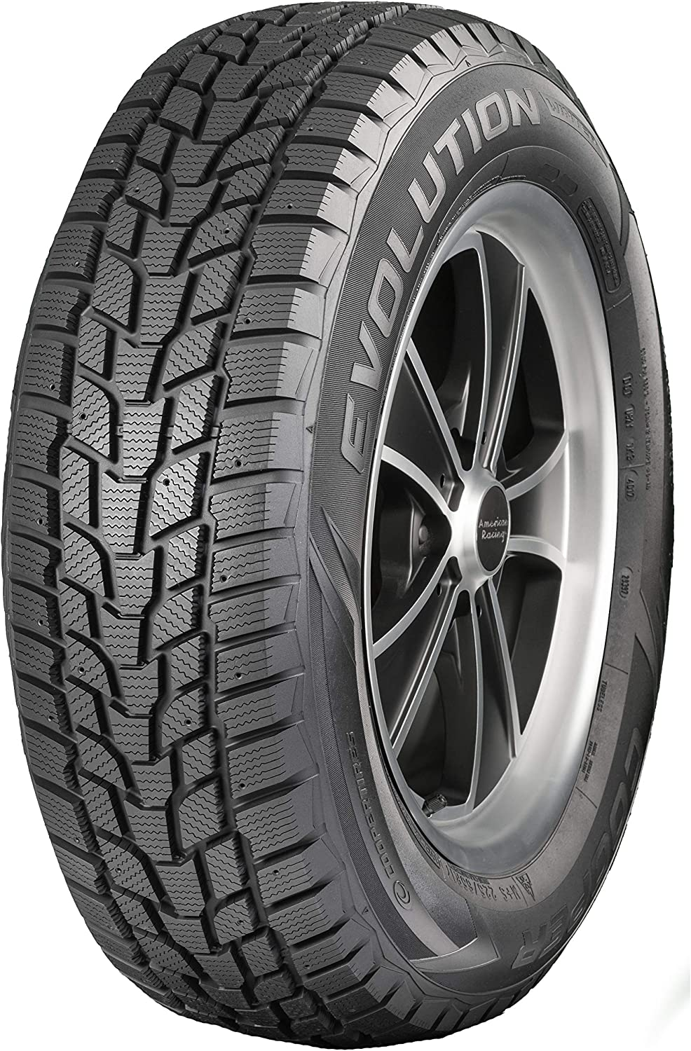 Cooper Tire Evolution Winter Studdable Winter Radial Tire
