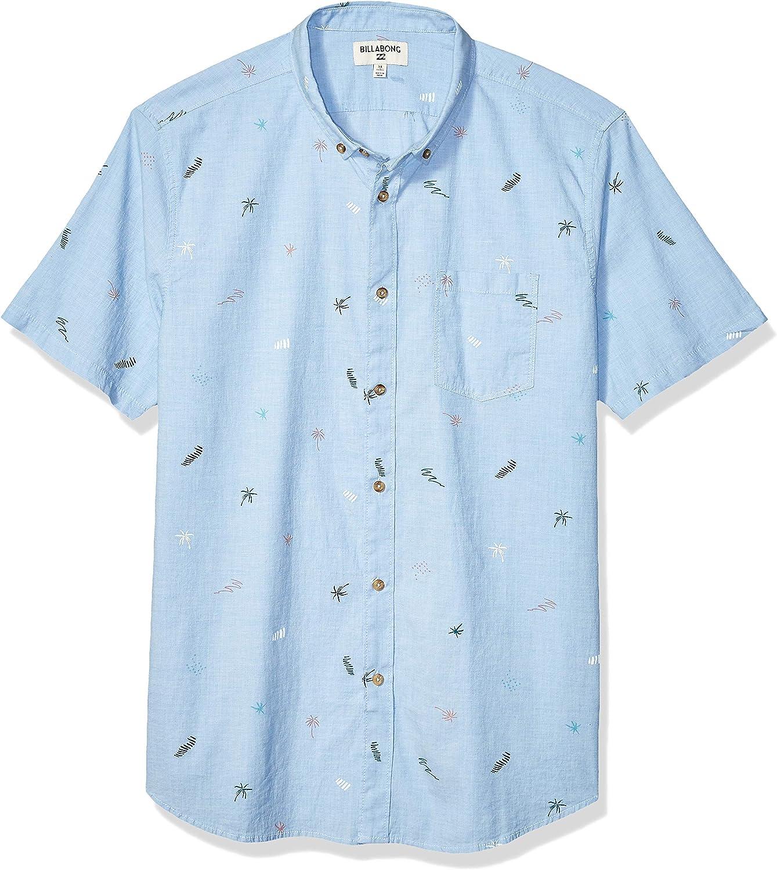 Billabong Mens Sundays Mini Short Sleeve Woven Shirt