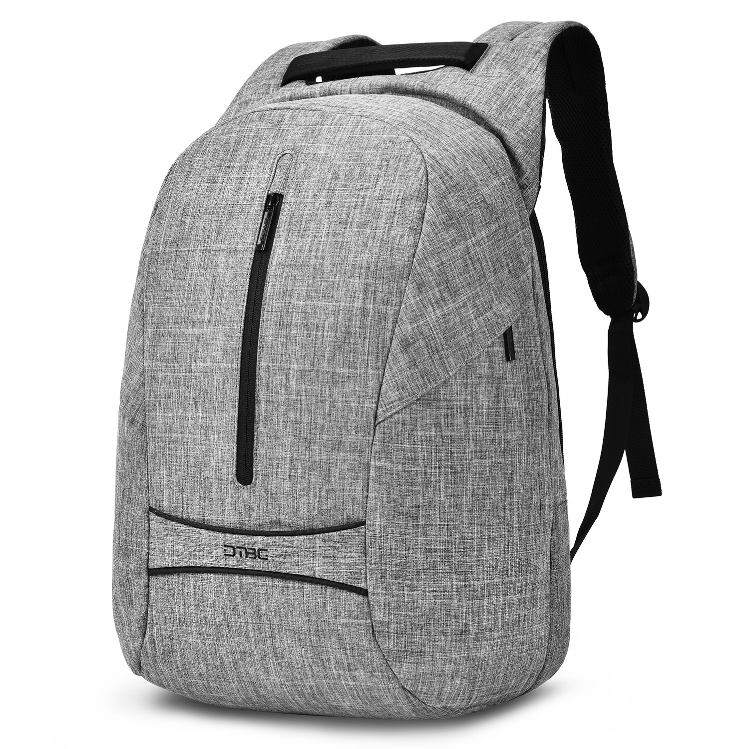 17.3 inch Anti Theft Laptop Backpack,Spacious Multi Function Water-Resistant Computer Backpack Knapsack College School Bag for MacBook,Surfacebook. Chrombook Use (Grey)