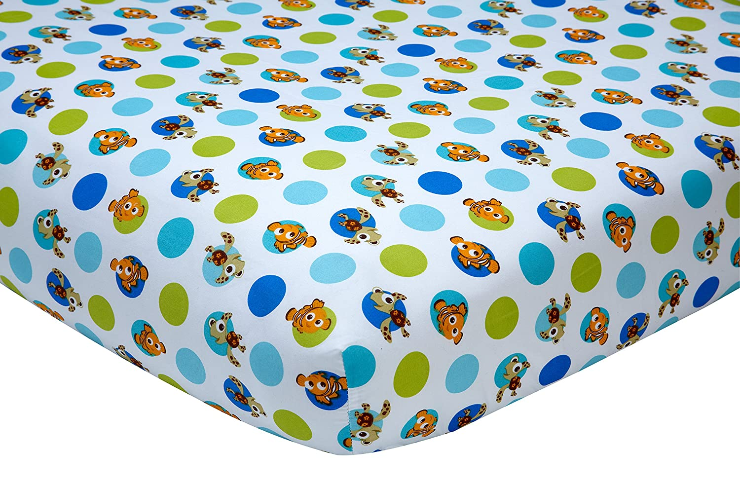 Disney Nemo 2 Piece Crib Sheet Set