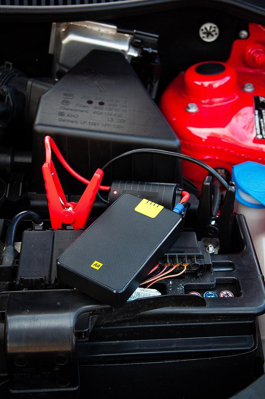 Aa Portable Jump Starter With 8000 Mah Power Bank Electrical Wiring Reassurance Diagram Diy Car Motorbike