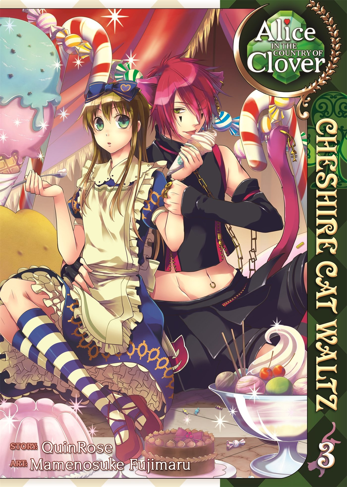 Download Alice in the Country of Clover: Cheshire Cat Waltz, Vol. 3 pdf epub