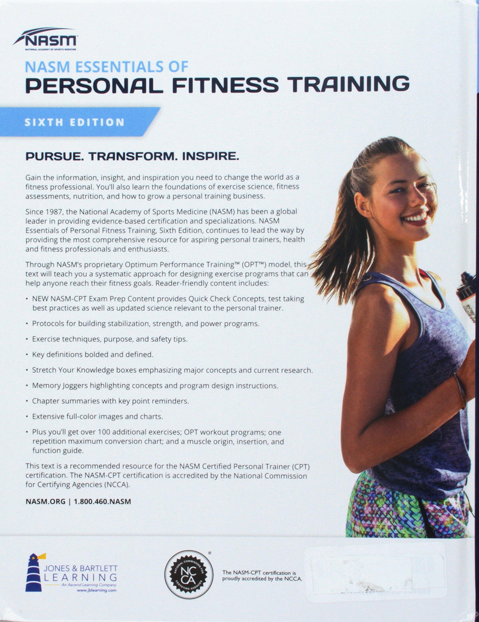 Nasm Essentials Of Personal Fitness Training Amazon John Doe