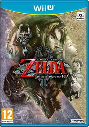Nintendo The Legend of Zelda: Twilight Princess HD Básico Wii U ...