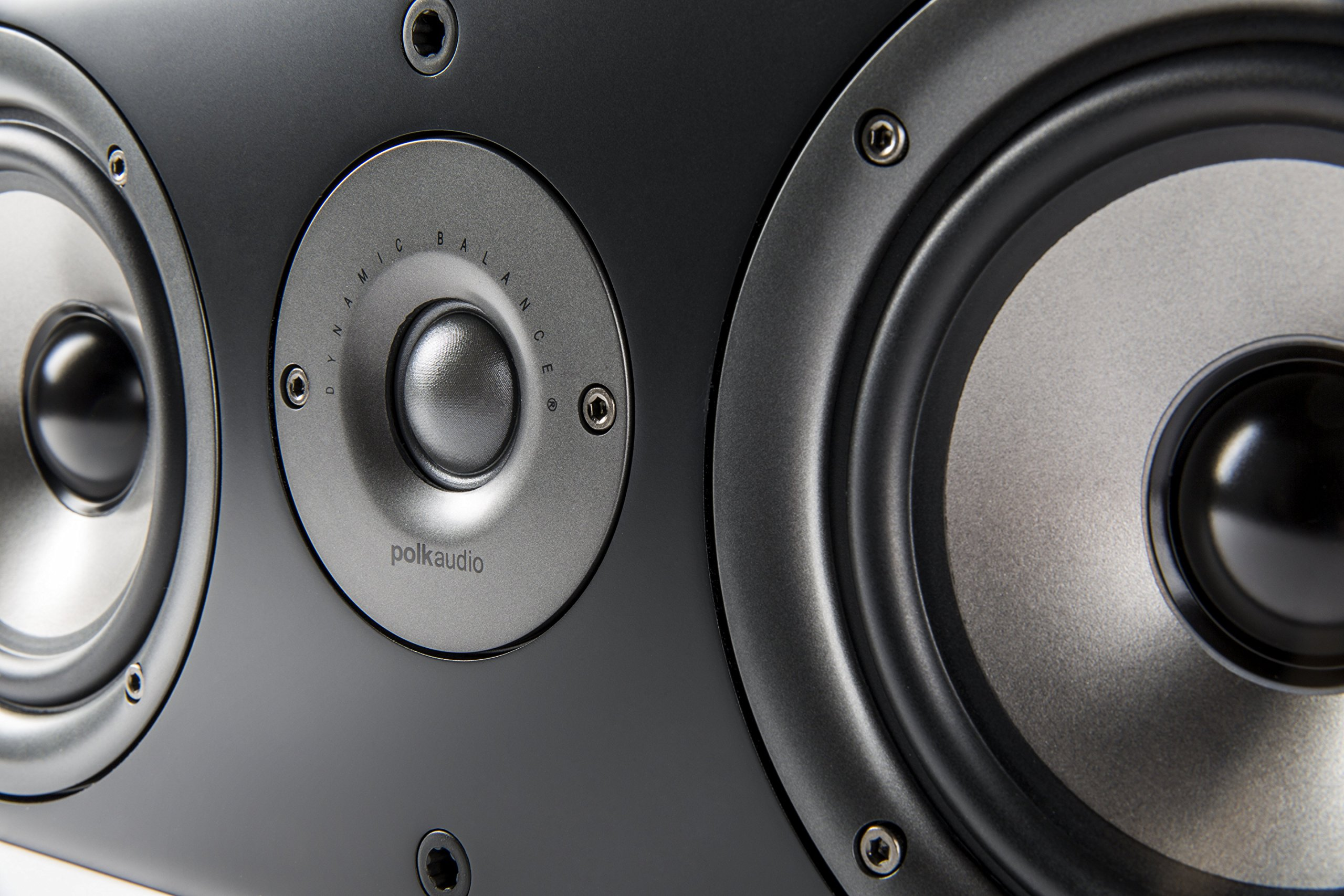 Polk Audio AM1585-A CS1 Series II Center Channel Speaker (Black) by Polk Audio