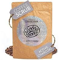Body Boom Coffee Scrub, Active Charcoal