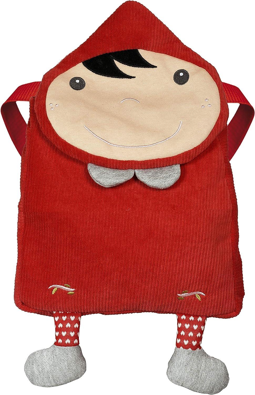 Ebulobo T 'es Fou Louloup mochila Red Riding Hood (Caperucita Roja)