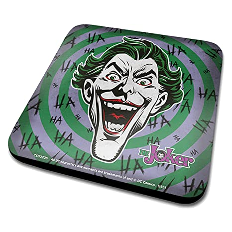 "Batman Dc Originals el Joker""Hahaha posavasos"