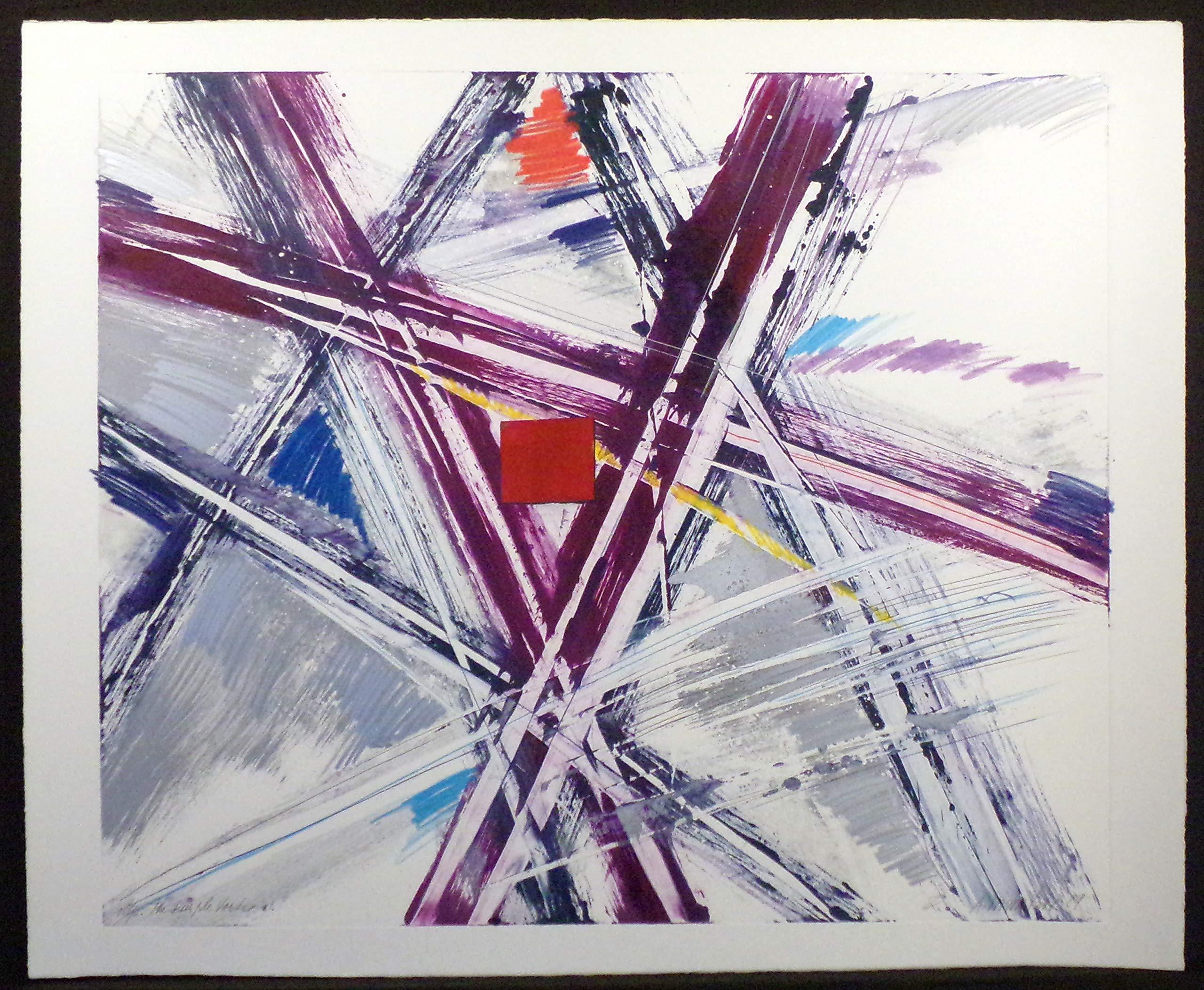 The Purple Vortex #1 by