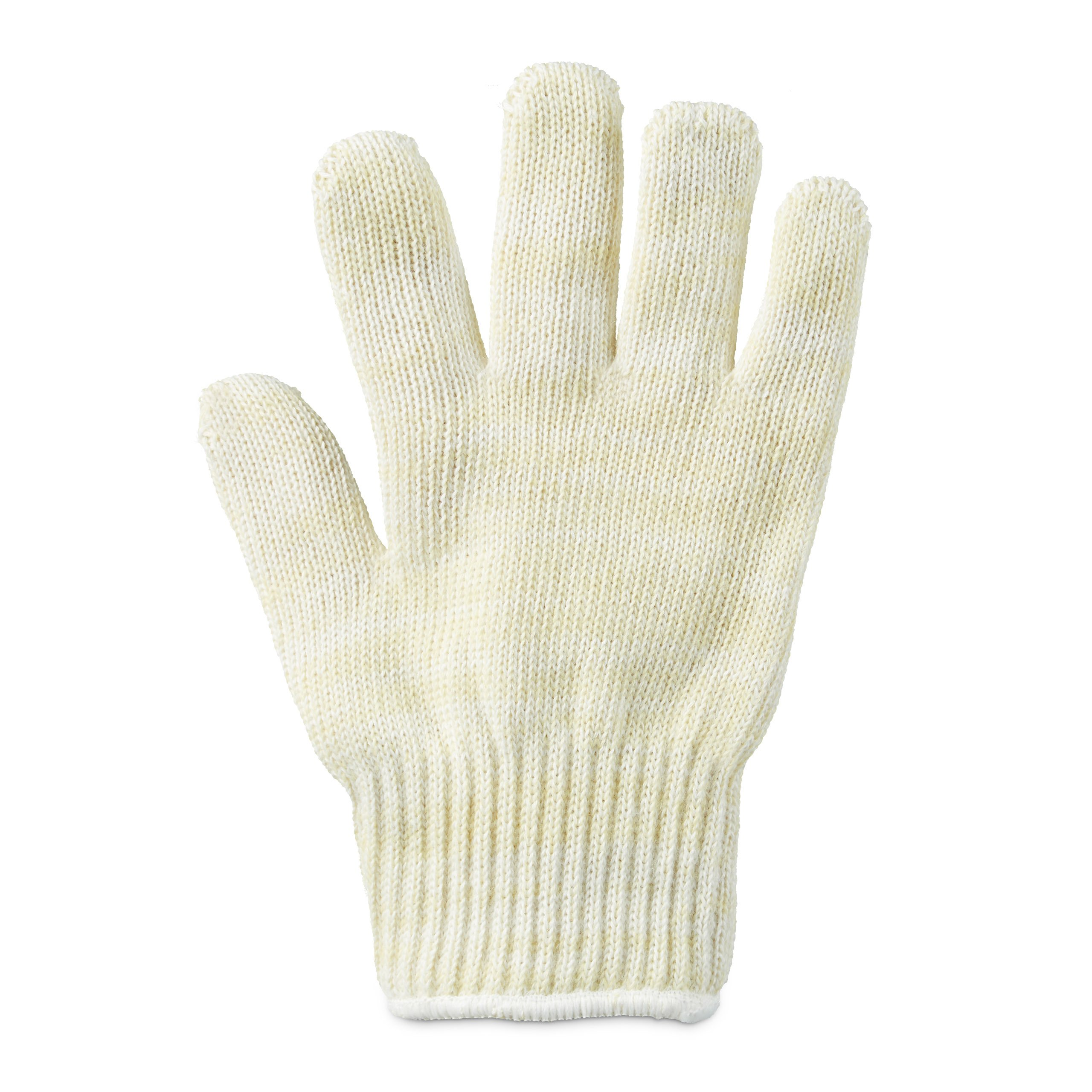 Relaxdays Heat Resistant Glove for the Grill & Oven,Fireproof Aramid Fiber, One-Size-Fits-All, for Left and Right Hand, Beige
