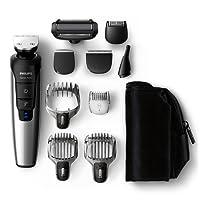 Philips Grooming Kit Serie 7000 PRO – QG3398/15 – Recortador barba, cabello y cuerpo, 10 en 1, versión europea