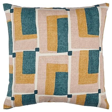 Rivet Mid Century Geo Print Pillow, 17u0026quot; X 17u0026quot; ...