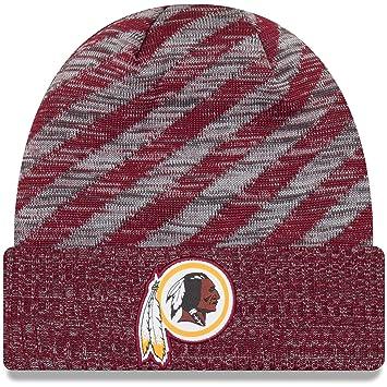 2666b6ea603 New Era NFL Sideline 2018 Knit Beanie Washington Redskins  Amazon.co ...