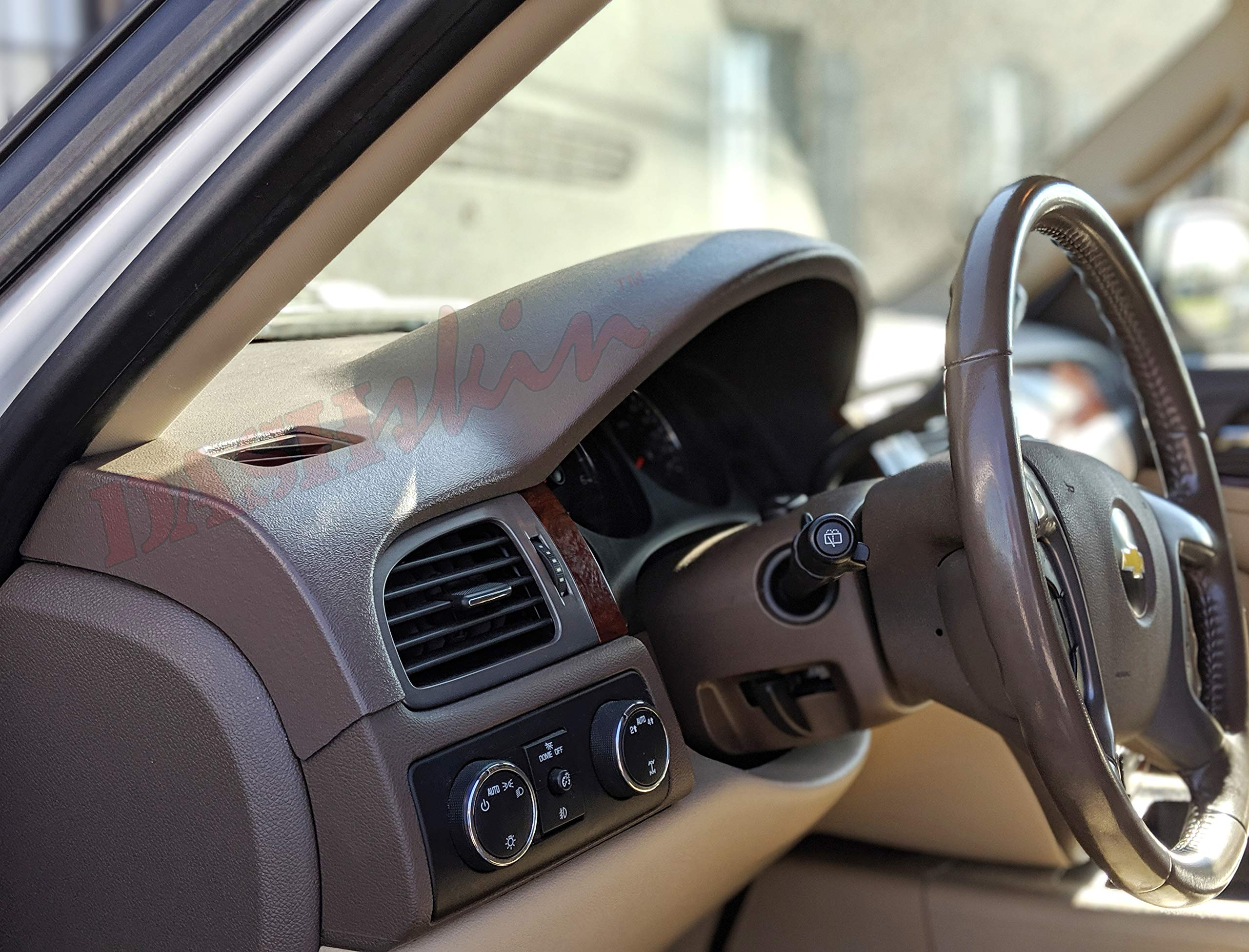 DashMat SuedeMat Dashboard Cover Chevrolet and GMC Faux-Suede, Beige