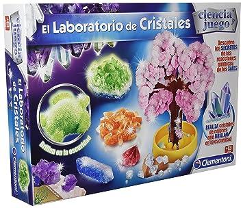 Ciencia y Juego - Laboratorio de Cristales, Juego Educativo (Clementoni 550838): Amazon.es: Juguetes y juegos