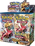 """Pokemon """"XY Number 9 Break Point"""" Booster Box (Pack of 36, Multi-Colour)"""