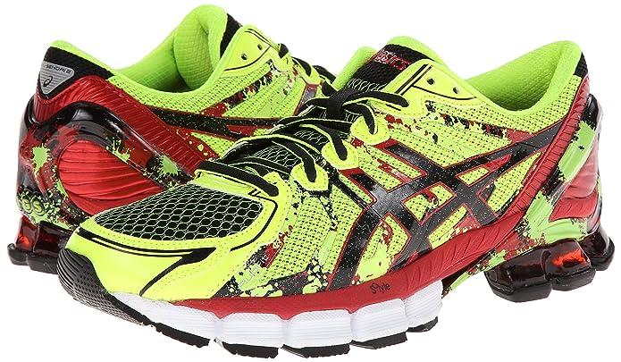 timeless design 907c6 74d3f ASICS Men s Gel-Sendai 2 Running Shoe,Flash Yellow Black Red,7 M US   Amazon.ca  Shoes   Handbags