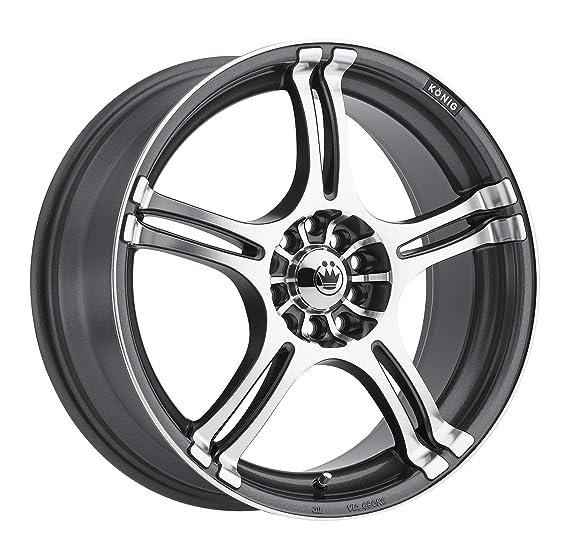 amazon konig incident graphite machined wheel 17x7 5x115mm 2014 Acura RL amazon konig incident graphite machined wheel 17x7 5x115mm automotive