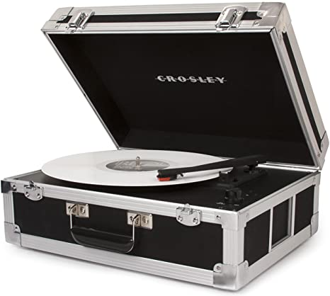 Crosley CR6251A-BKEU - bound tocadiscos bluetooth de tres velocidades en color negro