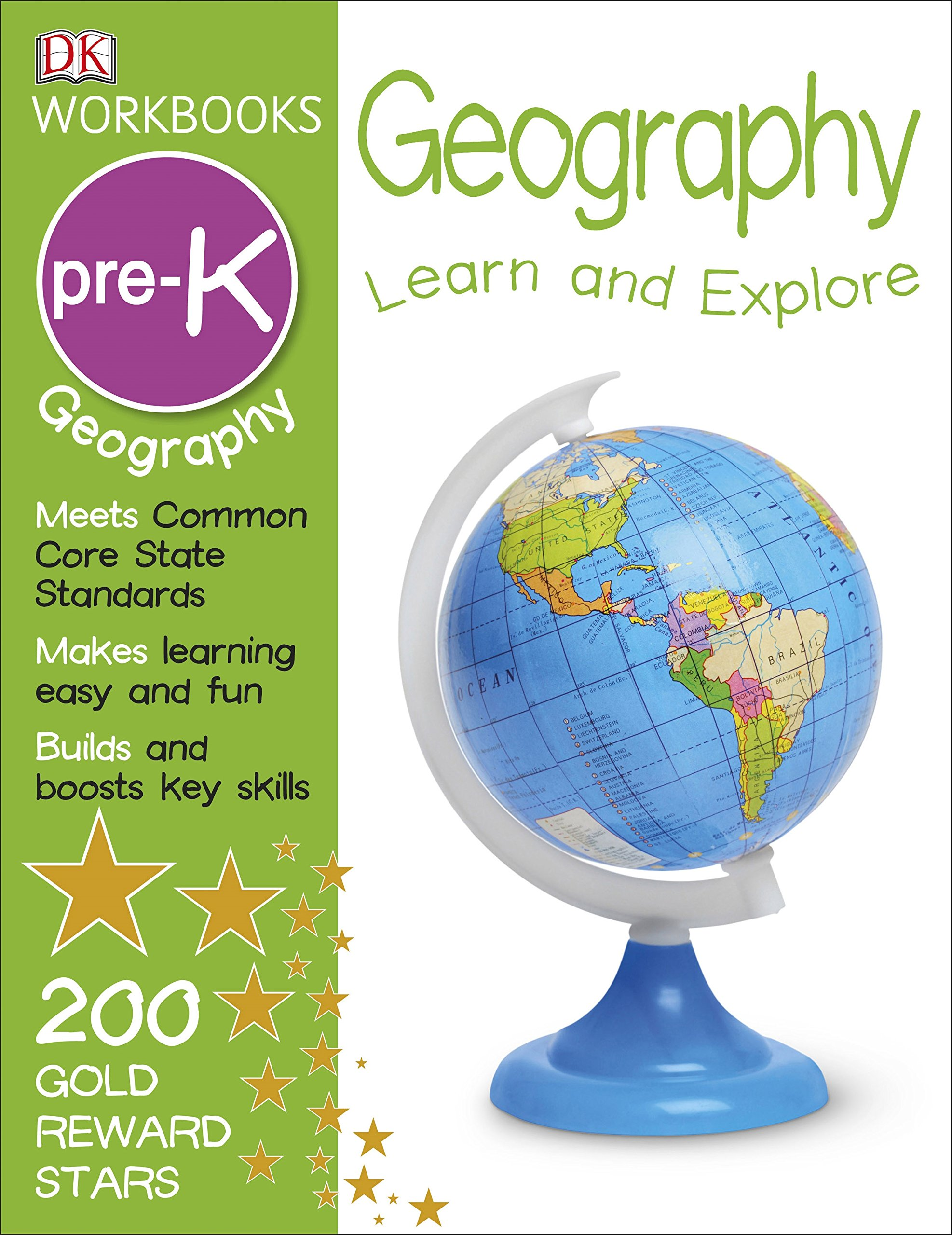 DK Workbooks Geography Pre K