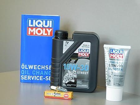 Kit de mantenimiento TGB X de Motion 125 Aceite Bujía Service Inspección ölwechsel: Amazon.es: Coche y moto