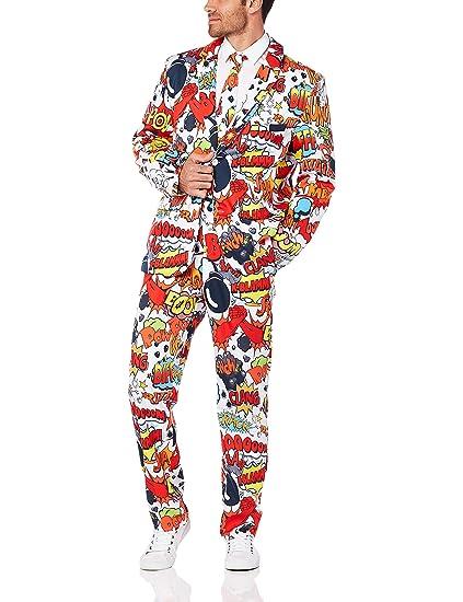 scarpe sportive 185c8 3d60d SMIFFYS Il completo Fumetto, con giacca, pantalone e cravatta