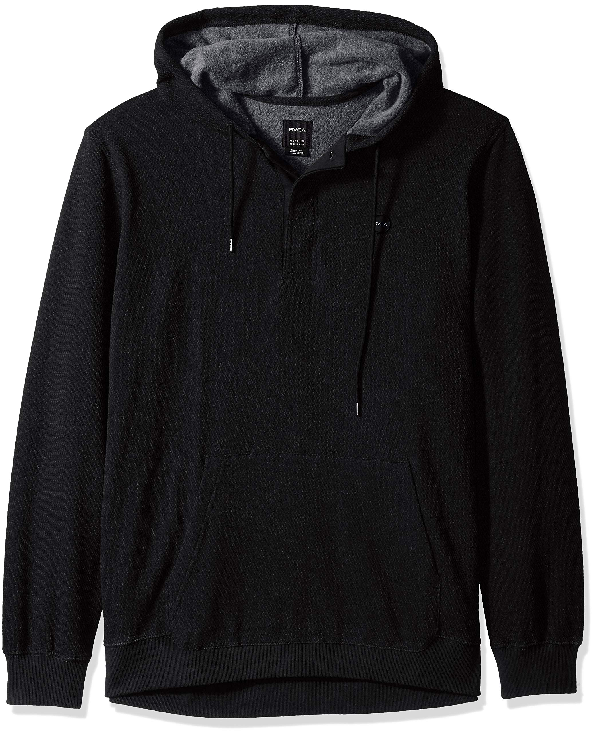 RVCA Men's Lupo Pullover Hooded Fleece