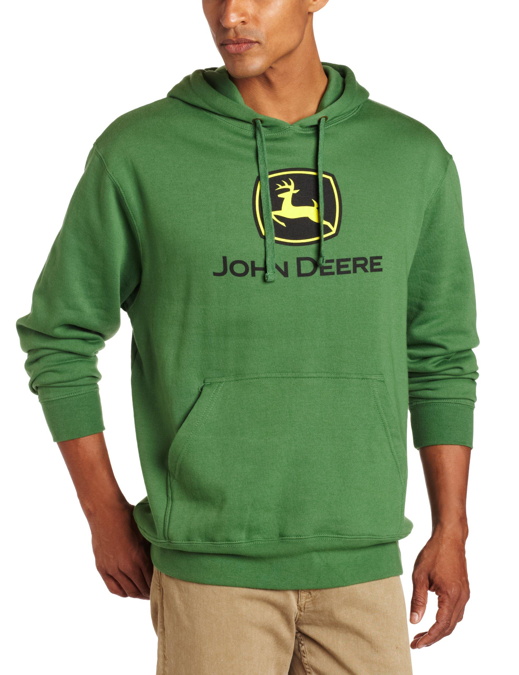 John Deere Hooded Sweatshirt Green