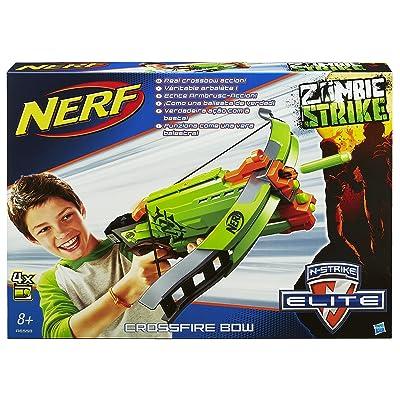 Nerf Zombie Strike Crossfire Bow: Toys & Games