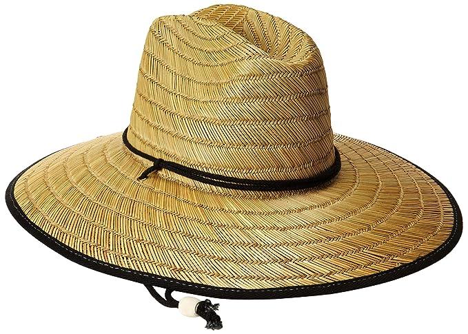 San Diego Hat Co. Men s Raffia and Straw Sun Hat 82db1628c1fd